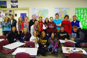 AP German with Wolfgang Fischer of the Transatlantic Initiative